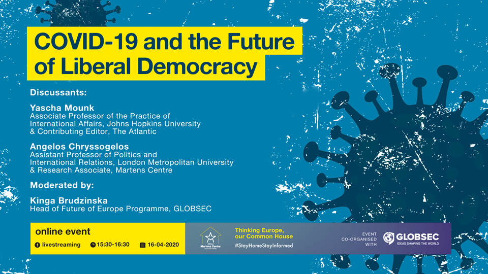 Webinar COVID-19 and the Future of Liberal Democracy - GLOBSEC online events