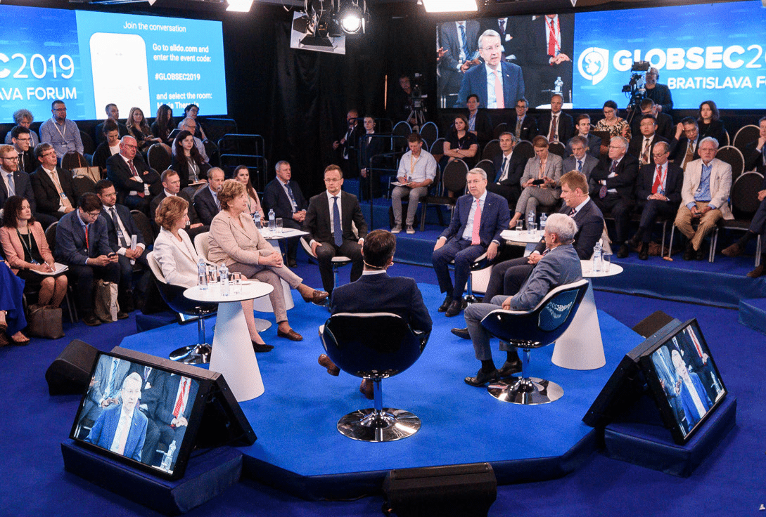 GLOBSEC Digital Stage Virtual Conferences