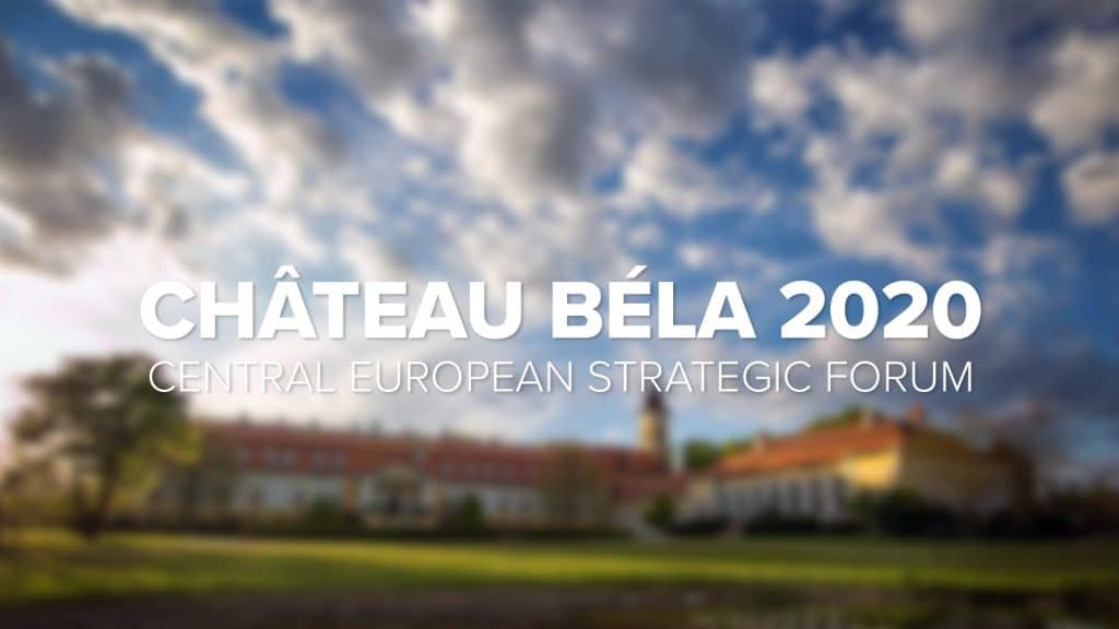 Château Béla Central European Strategic Forum 2020