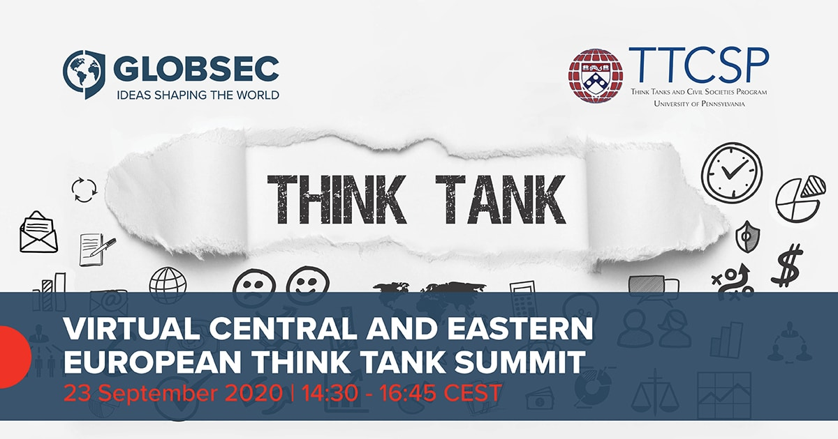 23.09.2020 - Virtual Central and Eastern European Think Tank Summit