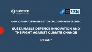Sustainable Defence Innovation and the Fight Against Climate Change: Recap
