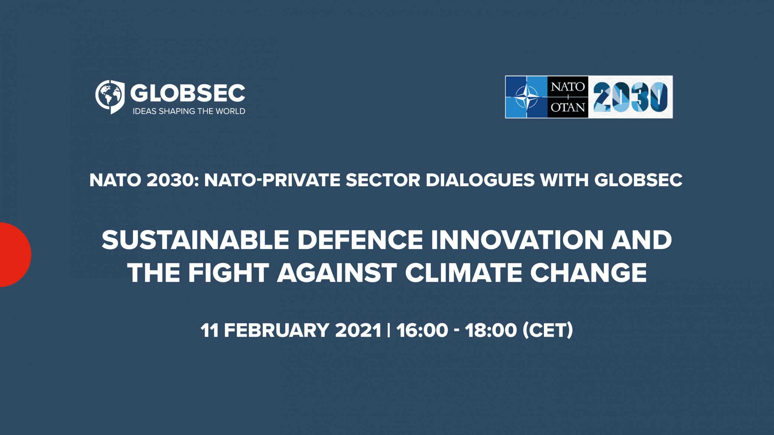 Sustainable Defence Innovation and the Fight Against Climate Change
