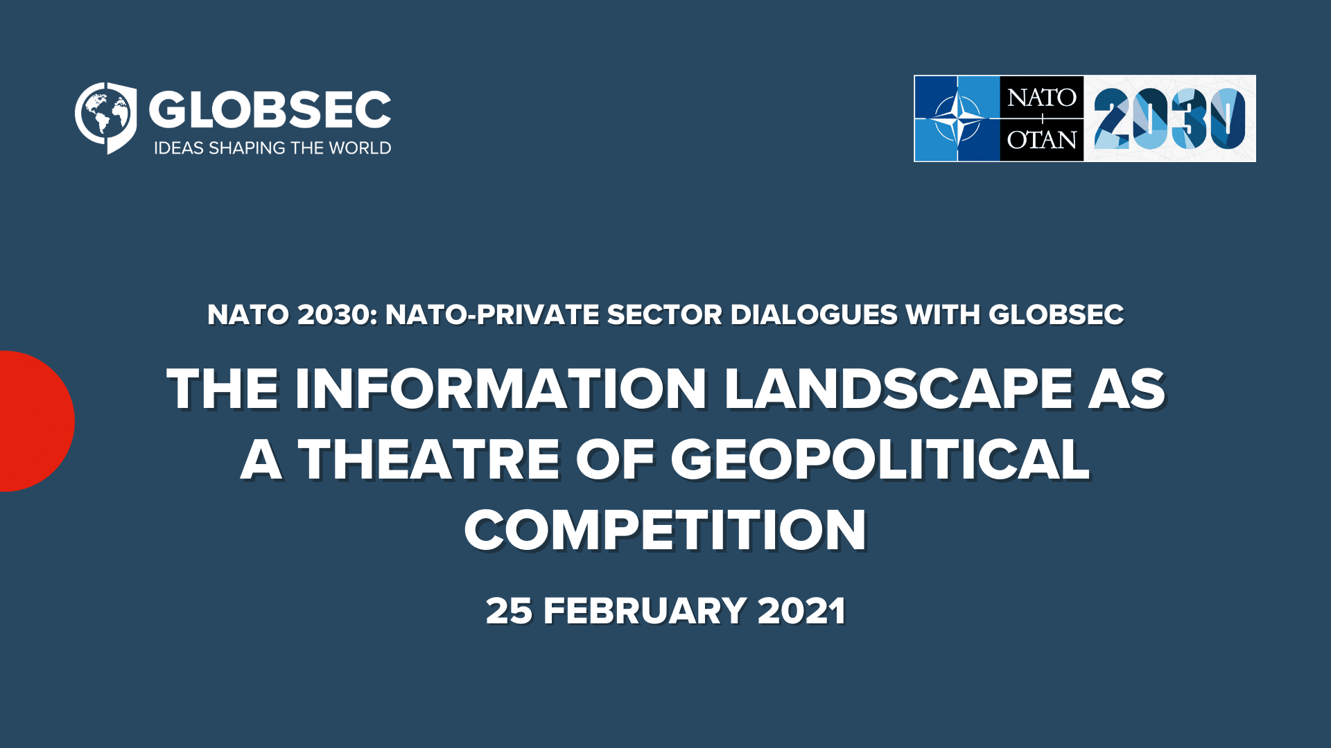 The Information Landscape as a Theatre of Geopolitical Competition