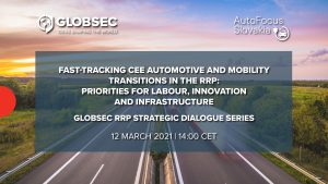 Fast-tracking CEE automotive and mobility transitions in the RRP: Priorities for labour, innovation and infrastructure