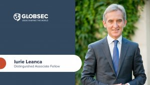 Iurie Leanca joins GLOBSEC as the think-tank's Distinguished Associate Fellow