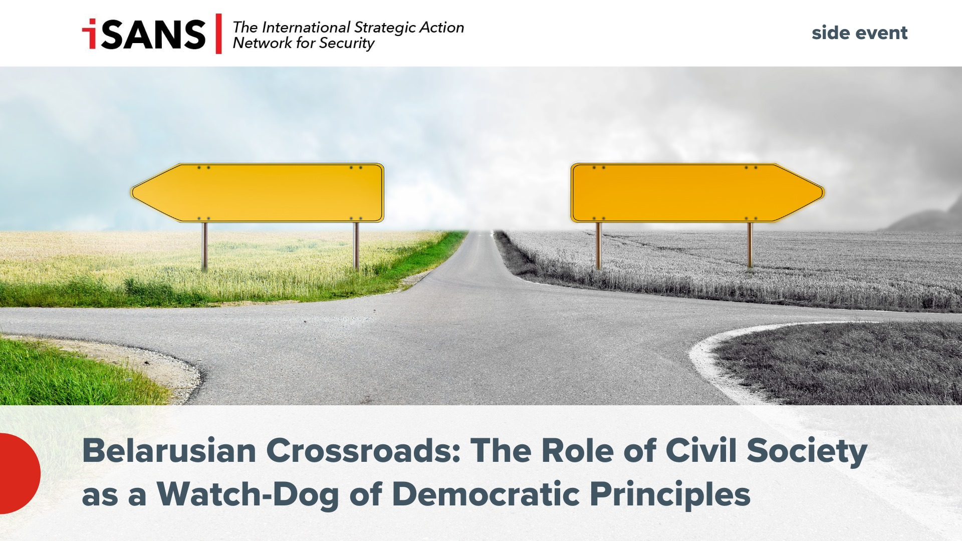 GLOBSEC 2021: Belarusian Crossroads: The Role of Civil Society as a Watch Dog of Democratic Principles