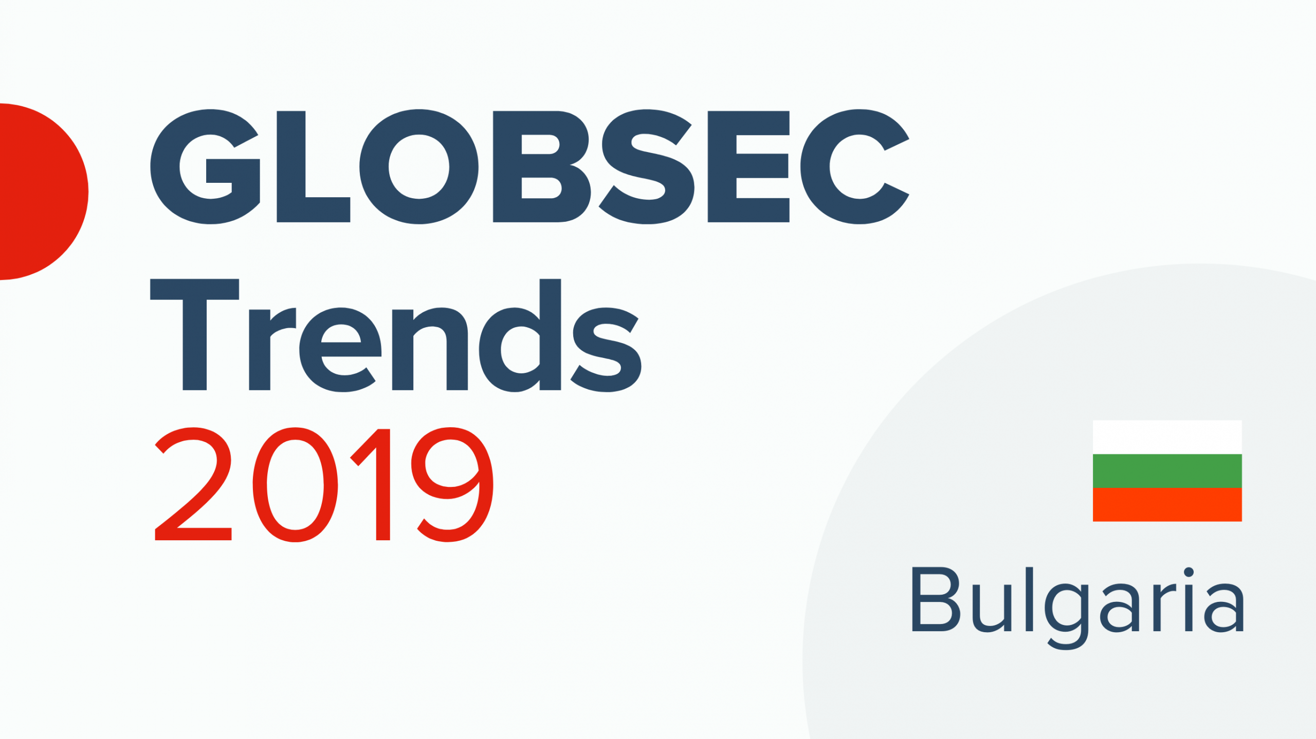 GLOBSEC Trends 2019: Bulgaria's complicated relation with Russia