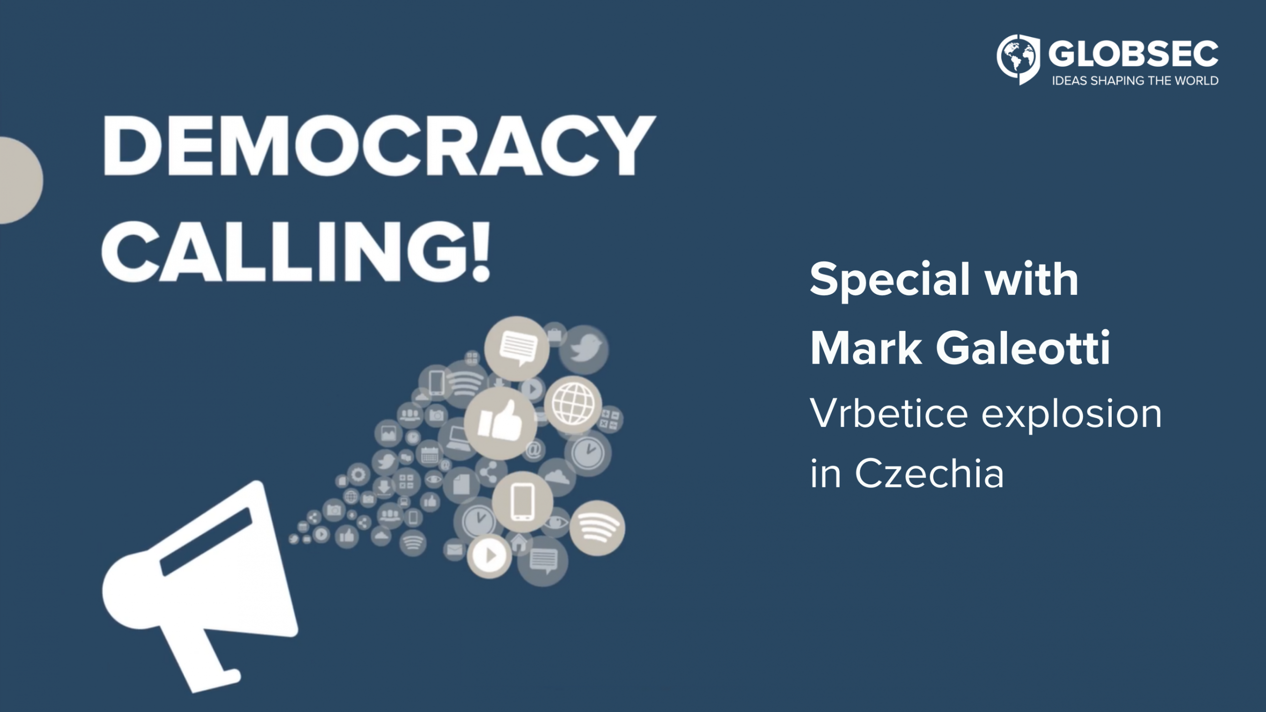Democracy Calling! Special: Vrbetice explosion in the Czech Republic